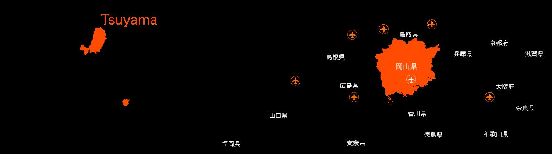 岡山県津山市 Tsuyama
