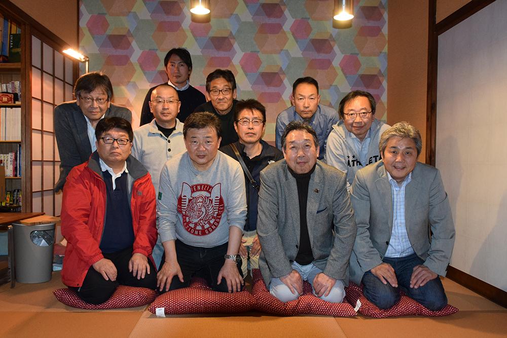 津山街デザイン創造研究所の初会合