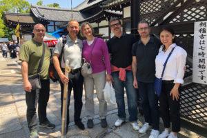 ジロさん京都武徳殿へ